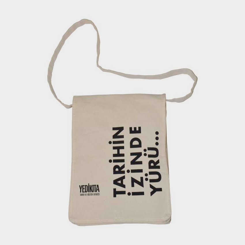 Postacı Tipi Kanvas Bez Çanta